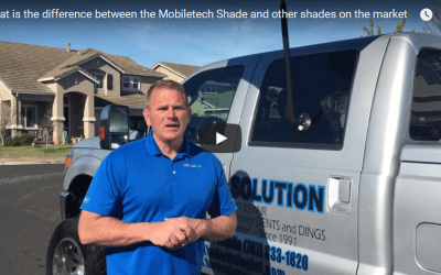 What is the difference between the Mobiletech Shade and other shades on the market?